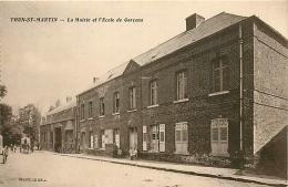 Thun-Saint-Martin. La Mairie Et L'école Des Garçons - Sonstige Gemeinden