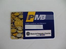 Card Bank Banque Banco De Fomento E Exterior Portugal Portuguese - Andere Sammlungen
