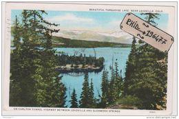 Leadville - Cpa / Beautiful Turquoise Lake. - Etats-Unis
