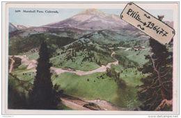 Colorado - Cpa / Marshall Pass. - Etats-Unis