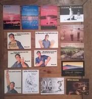 Lot De 15 Cartes Postales Publicitaires Banyuls & Vins - Advertising