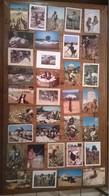 Lot De 34 Cartes Postales AFRIQUE / Ramassage Du Coton - Cartes Postales