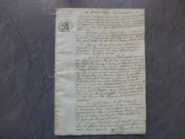 NIORT 1836 Procès Divorce Sénémand Chrétien, Sévices, Injures Graves, Adultère ; Ref 662VP42 - Documents Historiques