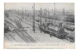 (19221-37) Saint Pierre Des Corps - La Gare Et La Vue Générale - Andere Gemeenten