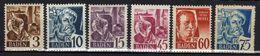 Baden 1947 Mi 2-3; 5; 9-11 ** [100318XXII] - Zone Française