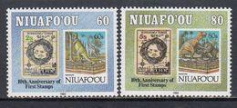 Niuafoou - ANIMALS / STAMPS ON STAMP 1993 MNH - Tonga (1970-...)