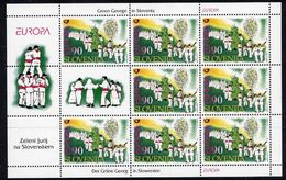 SLOVENIA 1998 Europa: Nationa; Festivals Sheetlet MNH / **.  Michel 225 Kb - Slovenia
