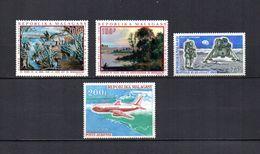 Madagascar   1969-70   .-   Y&T Nº   110-111-112-113     Aéreos    (  *   S/goma  ) - Madagascar (1960-...)