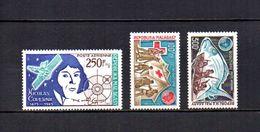 Madagascar   1974   .-   Y&T Nº   134-135/136     Aéreos    (  *   S/goma  ) - Madagascar (1960-...)