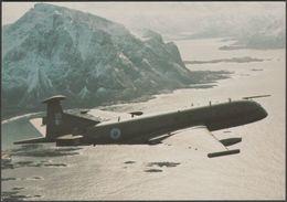 Hawker Siddeley Nimrod MR2 On Patrol - WorldAirSim Postcard - 1946-....: Modern Era