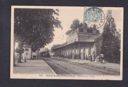 Vente Immediate St Saint Amand Montrond (18) Arrivee D'un Train ( Gare Chemin De Fer Ed. Vve Auclair ) - Saint-Amand-Montrond