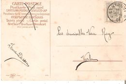 CP. TP. N° 81 Dépôt-relais De EYNTHOUT Du 18/4/1909vers VEERLE - Postmark Collection