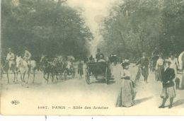 (75) PARIS (18ème) : Allée Des Acacias (animée) - Distretto: 18