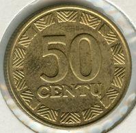 Lituanie Lithuania 50 Centu 1998 KM 108 - Lituania