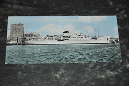 1569   Cagliari  Navire Ship Sardegna   Ca. 7 X 15 Cm. - Steamers