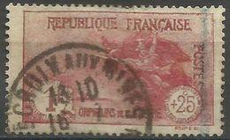 France  - 1926 War Orphans 1fr+25c Used   Sc B22 - France