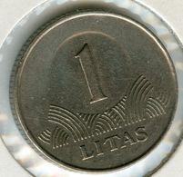 Lituanie Lithuania 1 Litas 1999 KM 111 - Lituanie
