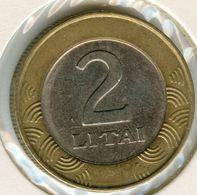 Lituanie Lithuania 2 Litai 1999 KM 112 - Lithuania