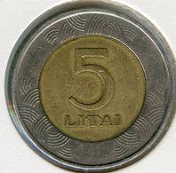 Lituanie Lithuania 5 Litai 1999 KM 113 - Lithuania