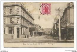 WELLINGTON - CUBA STREET FROM ROYAL OAK CORNER   VIAGGIATA FP - Nouvelle-Zélande