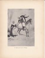 GRAVURE---un Départ Pour La Noce En Bretagne--( Reproduction Journée Du Livre 1932 )--voir  2 Scans - Other Collections