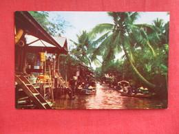 Dhornburi  Thailand Floating Market   ---  - -- Ref  2880 - Thailand