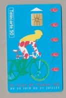 Télécarte 50 Tour De France 1996 - France