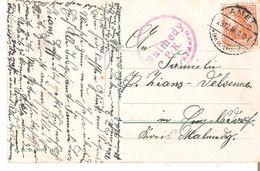 CP. TP.Germania 7,5Pf. Càd AMEL 23/12/1916 Censure De MALMEDY - Weltkrieg 1914-18