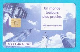 Télécarte 50 Nouvelles Technologies - Francia