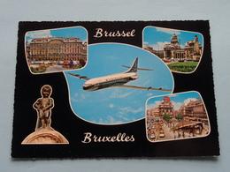 Groeten Uit BRUSSEL - BRUXELLES ( Id Zie SABENA ) ( Kruger ) Anno 19?? ( Zie Foto's ) ! - België