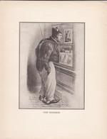 GRAVURE---type Vendomois--( Reproduction Journée Du Livre 1932 )--voir  2 Scans - Other Collections