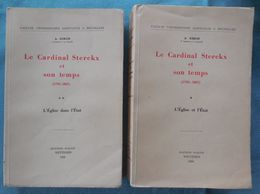 01 - Le Cardinal Sterckx Et Son Temps (1792-1867) - 2 Delen - A. Simon - 1950 - Storia
