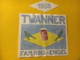 7947 - Twanner 1988 Fam, Rihs-Engel Suisse - Art