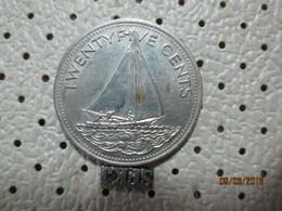 BAHAMAS 25 Cents 2005  # 5 - Bahamas