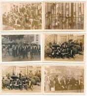 GENT 6 FOTO'S  10.5 X 7.5 CM - STUDENTEN HERDENKEN BEZTTING GRAVEN STEEN 49 - - Gent