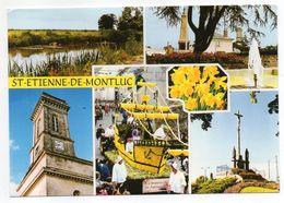 SAINT ETIENNE DE MONTLUC--Multivues  (monument Aux Morts,église,calvaire,marais,fête) - Saint Etienne De Montluc