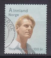 Norway 2014 Mi. ????     A Innland Thor Heyerdal - Used Stamps