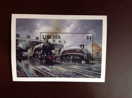 Liberia 1994-6 Trains Minisheet MNH - Liberia