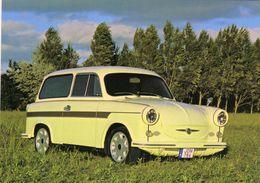 Trabant 600 Kombi  -  1962       -  CPM - Voitures De Tourisme