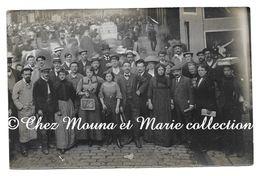PARIS 1911 - BOULEVARD DES FILLES DU CALVAIRE  - DE MARTIN  POUR ST OMER A PLESSIS BRION - CARTE PHOTO - Arrondissement: 03