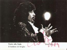 27/FG/18 - PERSONAGGI SPETTACOLO - BASSO ENZO DARA (dedica E Autografo Originale) - Artistes