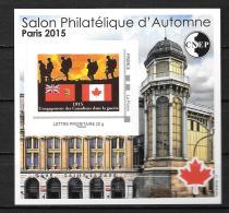 2015 - N° 69**MNH -  Salon D4automne à Patis - Canada - CNEP