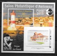 2015 - N° 70**MNH -  Salon D4automne à Patis - St Pierre Et Miquelon - CNEP