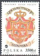 Poland 1992  World Post Day - Mi 3399 - MNH (**) - Postfrisch - 1944-.... République