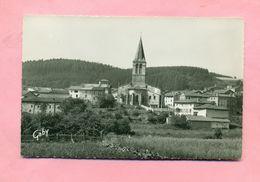 63 - PUY DE DÔME - SAINT / ST GERMAIN L'HERM Prés AMBERT - L'EGLISE ET LE PARC - France