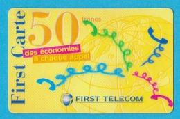 Télécarte First Télécom 50 Francs - France
