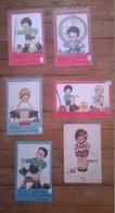 Lot De 6 Cartes Postales Anciennes Beatrice MALLET - Mallet, B.