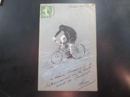 Carte Peinte - Cyclisme