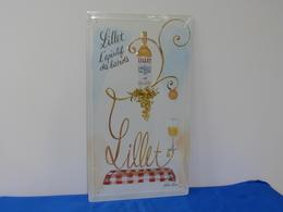 """Plaque Métal """"LILLET"""" Modèle 2. - Advertising (Porcelain) Signs"""