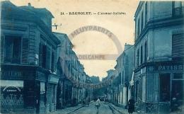 /! 4237 - CPA/CPSM  :  93 - Bagnolet : L'avenu Galiéni - Bagnolet